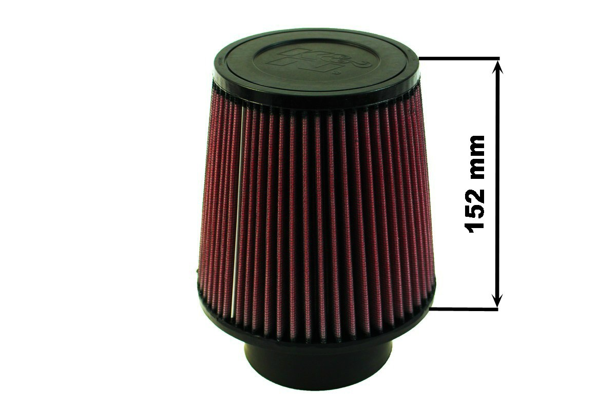 Filtr stożkowy K&N RE-0950 80-89mm